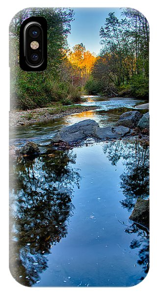 Stone Mountain North Carolina Scenery During Autumn Season IPhone Case