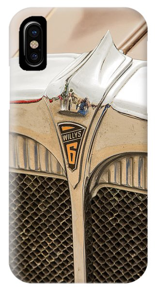 1931 Willys Convertible Car Antique Vintage Automobile Photograp IPhone Case