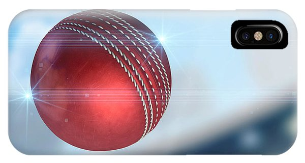 Ball Flying Through The Air IPhone Case