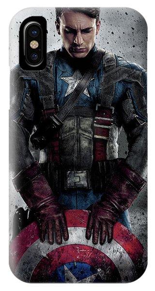 Captain America Civil War 2016 IPhone Case