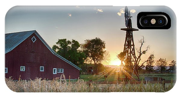 17 Mile House Farm - Sunset IPhone Case
