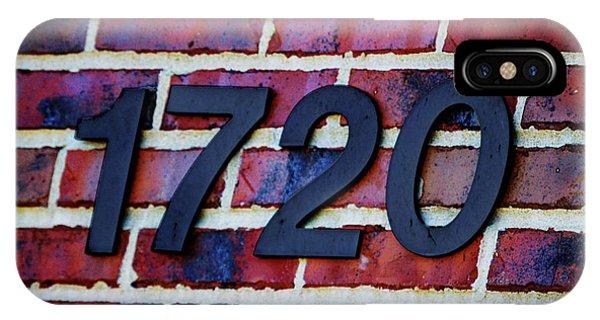 1720 Address IPhone Case