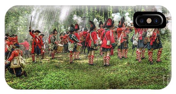 1763 Battle Of Bushy Run Pennsylvania Phone Case by Randy Steele