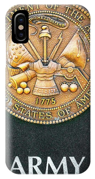 Department Of The Army iPhone Case - 1775 by Aaron Geraud