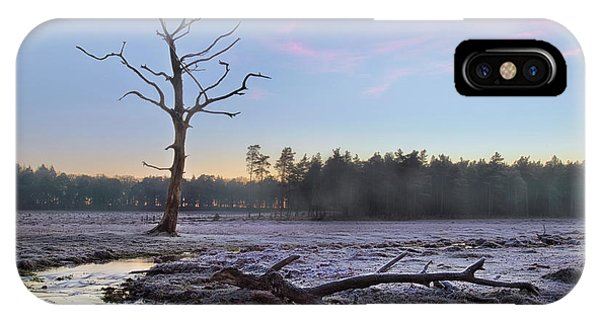 Sonne iPhone Case - New Forest - England by Joana Kruse