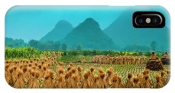 IPhone Case featuring the photograph Beautiful Countryside Scenery In Autumn by Carl Ning