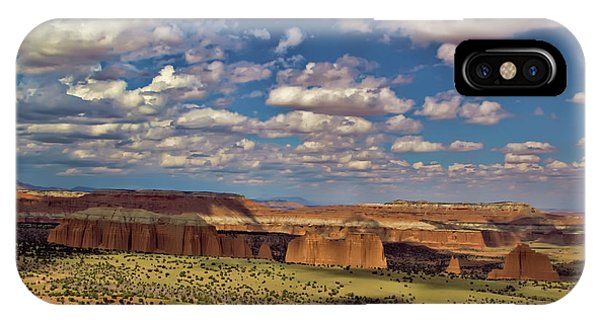 Capitol Reef National Park Catherdal Valley IPhone Case