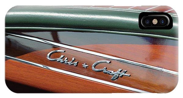 Classic Chris Craft IPhone Case