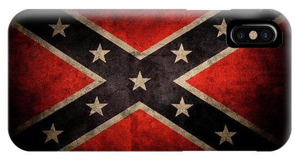 Confederate Flag 7 IPhone Case