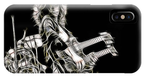 Jimmy Page iPhone Case - Jimmy Page Collection by Marvin Blaine
