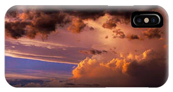Nebraska Hp Supercell Sunset IPhone Case