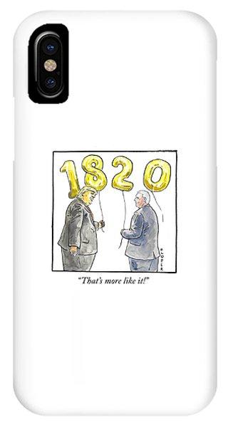 1820 IPhone Case