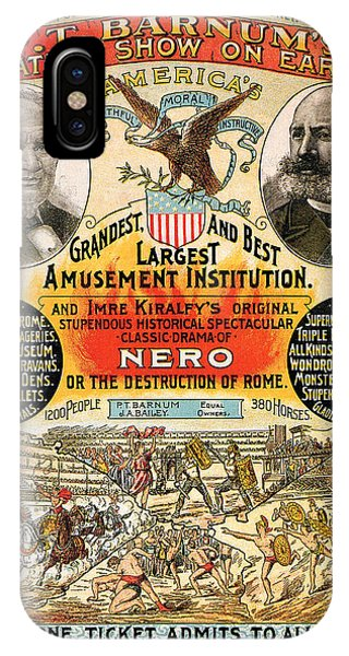 1890 - Circus Poster IPhone Case
