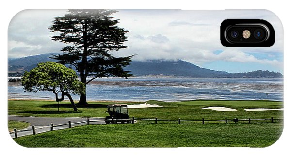 18th At Pebble Beach Horizontal IPhone Case