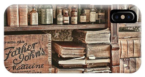 18th Century Pharmacy IPhone Case