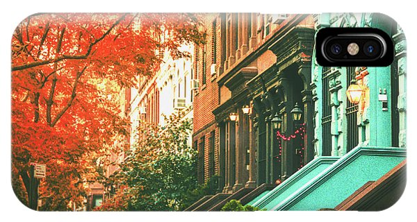 Porches iPhone Case - New York City  by Vivienne Gucwa