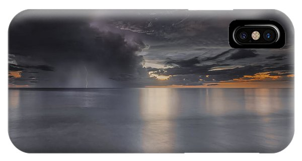 Sunst Over The Ocean IPhone Case
