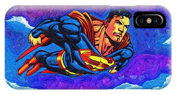 Superman Costume IPhone Case