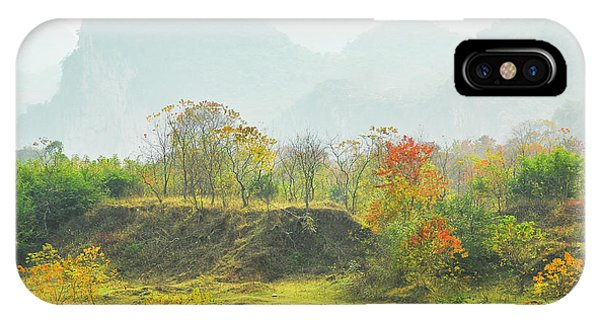 IPhone Case featuring the photograph The Colorful Autumn Scenery by Carl Ning