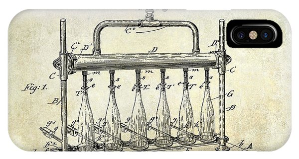 1903 Bottle Filling Patent IPhone Case