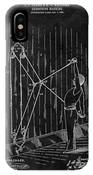 1904 Exercise Apparatus Patent IPhone Case