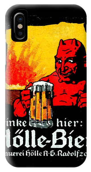 1905 German Beer Poster IPhone Case