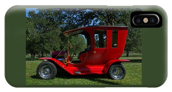 1909 Ford Model T Limo Custom Hot Rod IPhone Case