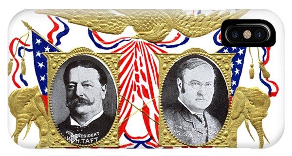 1909 Our Choice William Howard Taft IPhone Case