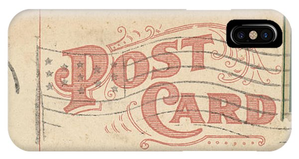 Antiques iPhone Case - 1909 Postcard by Greg Joens