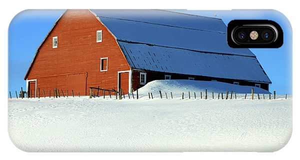 1912 Finnish Barn Valley County IPhone Case