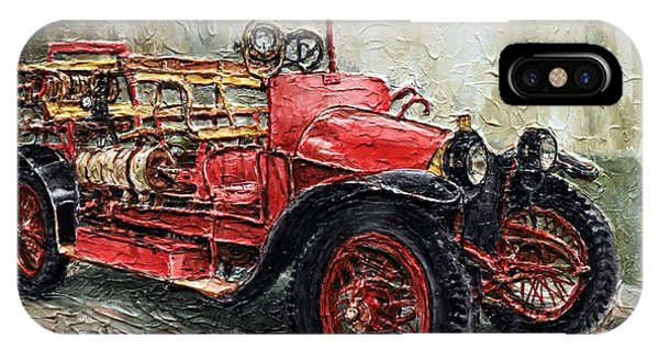 1912 Porsche Fire Truck IPhone Case