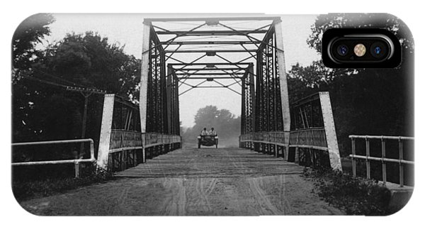 20th iPhone Case - 1915 Hudson Road Bridge by Greg Joens