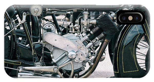 1921 P And M Motorcycle Phone Case by Tim Gainey