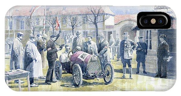 1922 Zbraslav Jiloviste Bugatti T13 Brescia Joan Halmovici Winner  IPhone Case