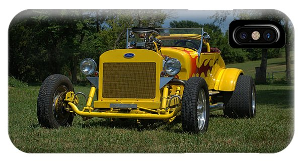 1924 Ford Model T Roadster Hot Rod IPhone Case
