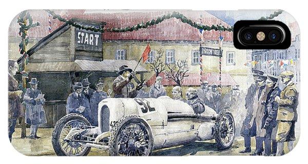 0 iPhone Case - 1924 Zbraslav-jiloviste Regularity Ride To The Top Start Walter W-0 by Yuriy Shevchuk