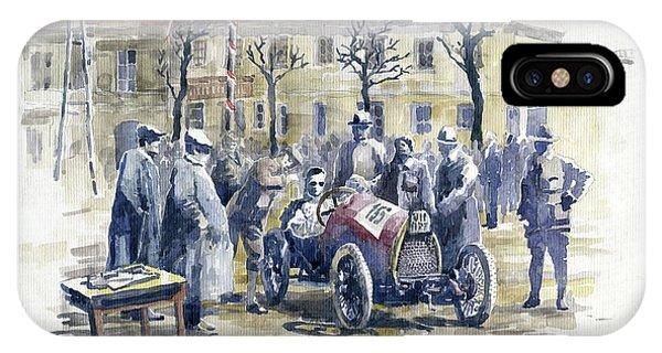 1922 Zbraslav Jiloviste Start Bugatti T13 Brescia. IPhone Case