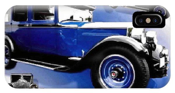 1927 Packard 526 Sedan IPhone Case