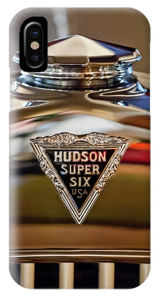 1929 Hudson Cabriolet Hood Ornament IPhone Case