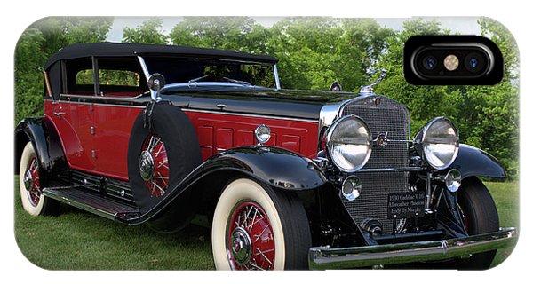 1930 Cadillac V16 Allweather Phaeton IPhone Case