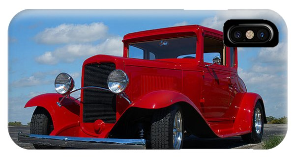 1930 Chevrolet Coupe Hot Rod IPhone Case