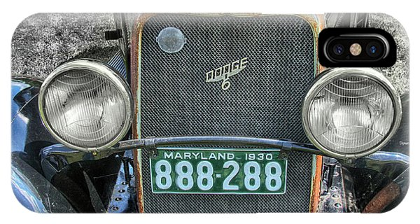 1930 Dodge Six  Phone Case by Steven Digman