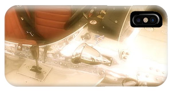 1930s Single Seater Racing Car Detail IPhone Case