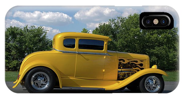 1931 Ford Coupe Hot Rod IPhone Case