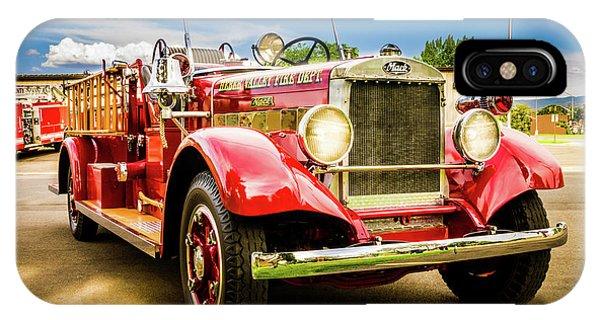 1931 Mack - Heber Valley Fire Dept. IPhone Case