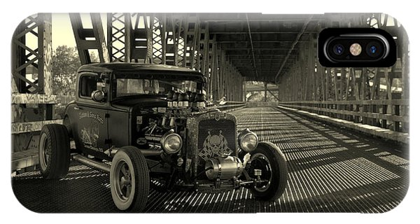 1931 Nash Coupe Rat Rod IPhone Case