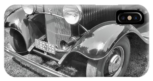 1932 Ford Coupe Bw IPhone Case