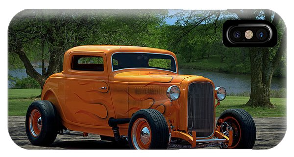 1932 Ford Coupe Hot Rod IPhone Case