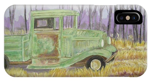 1932  Greenford Pickup Truck IPhone Case