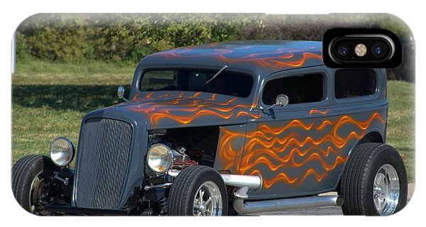 1933 Ford Sedan Hot Rod IPhone Case